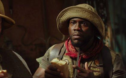 Kevin Hart, combustión espontánea en el nuevo tráiler de 'Jumanji: Bienvenidos a la Jungla'