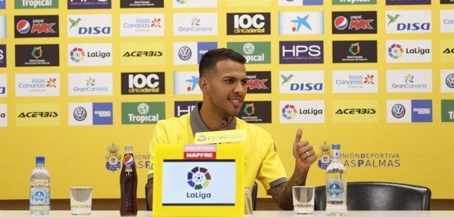 Jonathan Viera, jugador de la UD Las Palmas