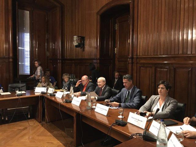 Senadores catalanes por designación del Palament