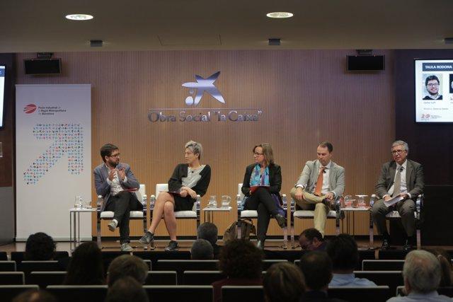 Carlos Cuffí, Cecilia Tham, Gemma Navés, Carlos Toledo i Carles Roig