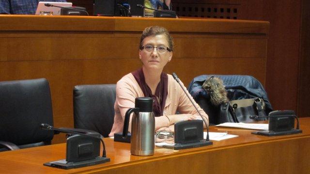 La directora general de Turismo del Gobierno de Aragón, María Luisa Romero
