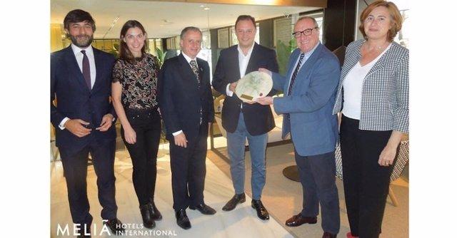 Meliá Hotels recibe el premio latinoamericano a la Responsabilidad Empresarial