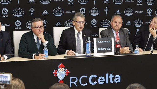 Carlos Mourinho, presidente del Real Club Celta de Vigo