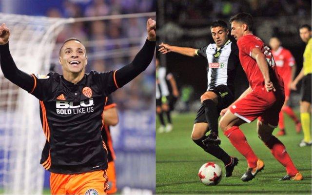 Rodrigo Moreno marca en Zaragoza y el Sevilla acaba con el Cartagena