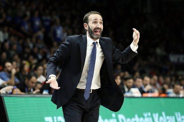 Sito Alonso, entrenador de Baskonia