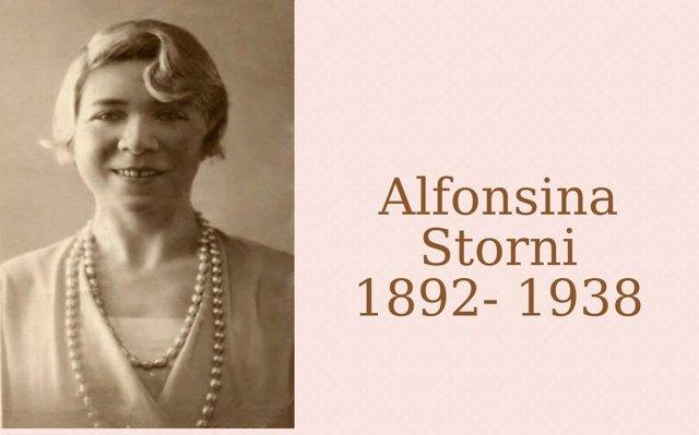 Alfonsina Storni a media voz