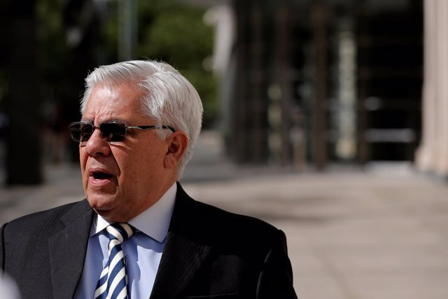 El expresidente de la Fedefut de Guatemala Hector Trujillo.