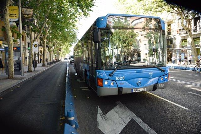 Recursos de autobuses en Madrid, autobús, bus