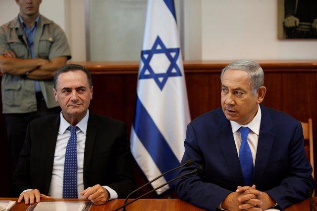 El ministro de Inteligencia y el primer ministro de Israel
