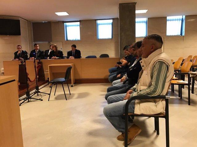 Juicio a siete acusados de transportar droga desde Algeciras