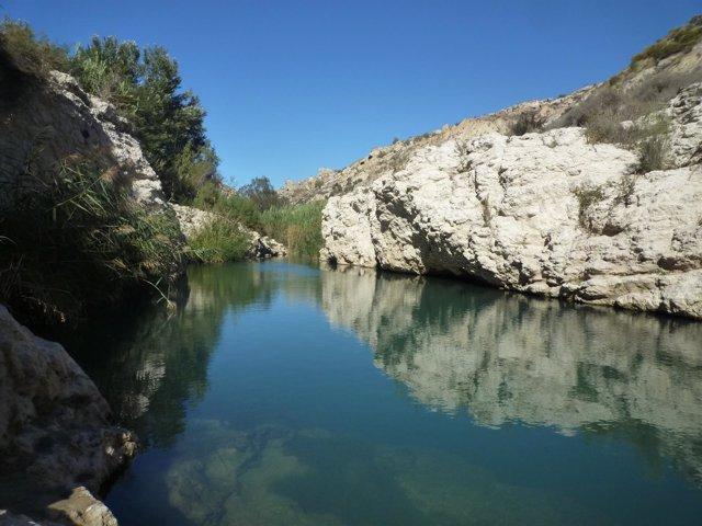 Río Aguas, en Almería