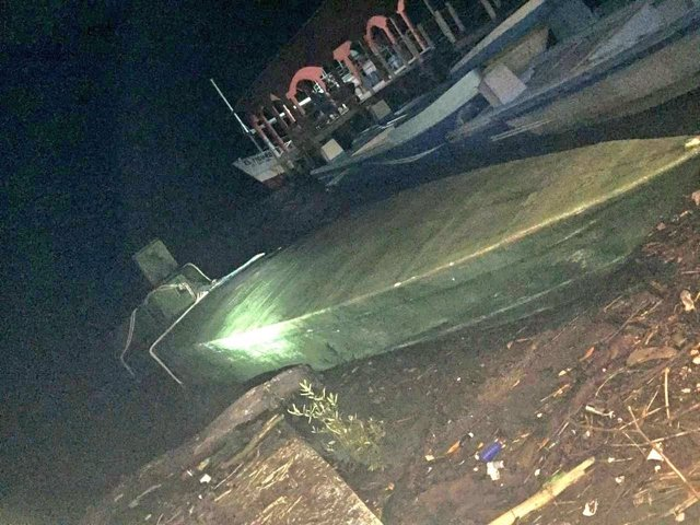 Submarino con droga incautado en El Salvador
