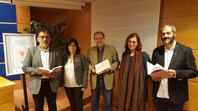 El Certamen Gastronómico Juan Altamiras se ha presentado hoy en la DPZ