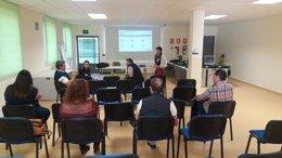 Asistentes a la jornada de difusión sobre 'Andalucía Emprende'