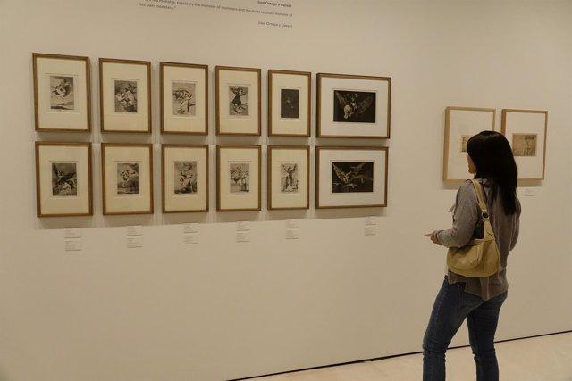 Ensor grabados arte museo thyssen Goya exposición inédita cultura pintura