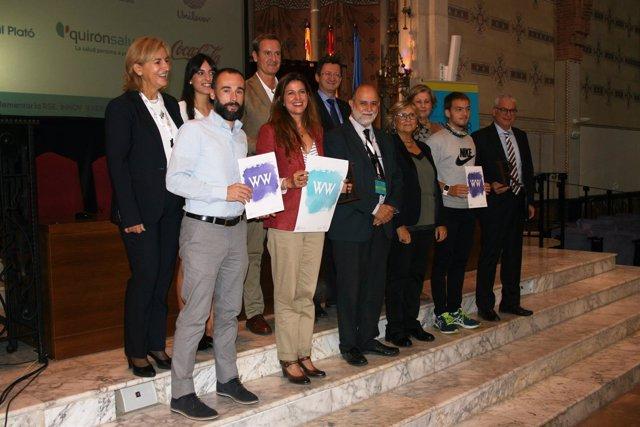 Participantes de la III Jornada RSC de la UAO CEU