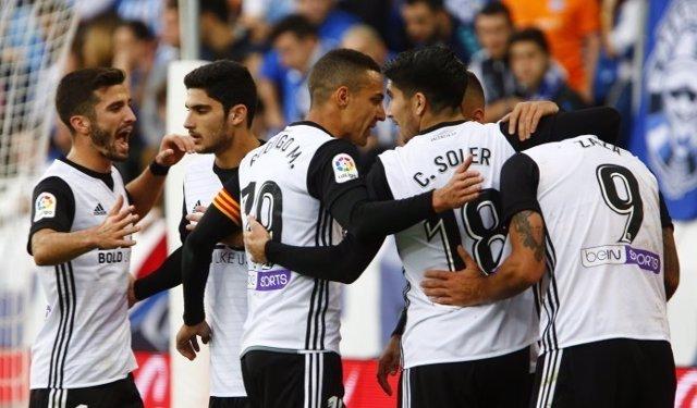 El Valencia de Marcelino en su gran inicio de Liga