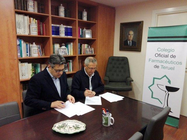 Colaboración entre Cáritas Teruel y Colegio de Farmacéuticos de la provincia