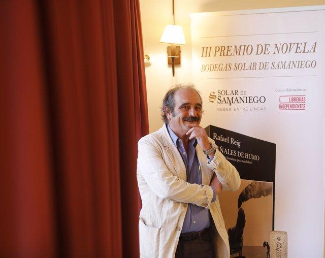 Rafael Reig, III Premio Novela Solar de Samaniego