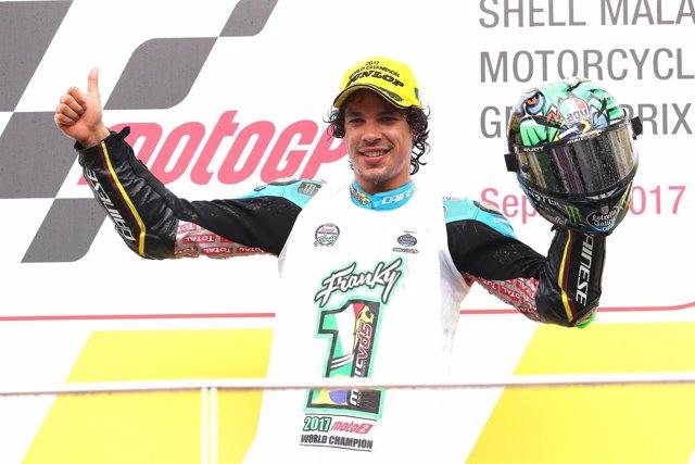 Franco Morbidelli campeón Moto2 Malasia