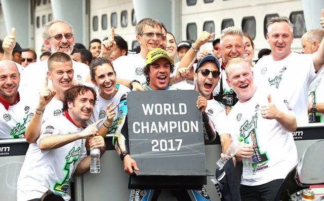 Franco Morbidelli Malasia campeón