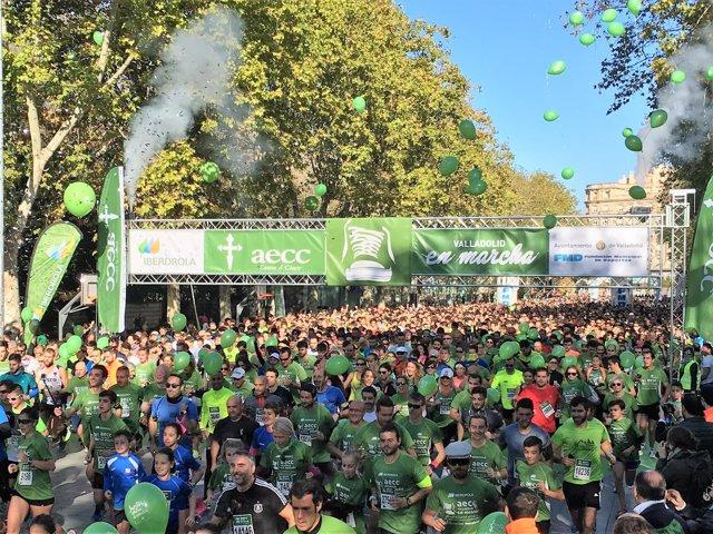 Valladolid.- Momento de la salida de la marcha