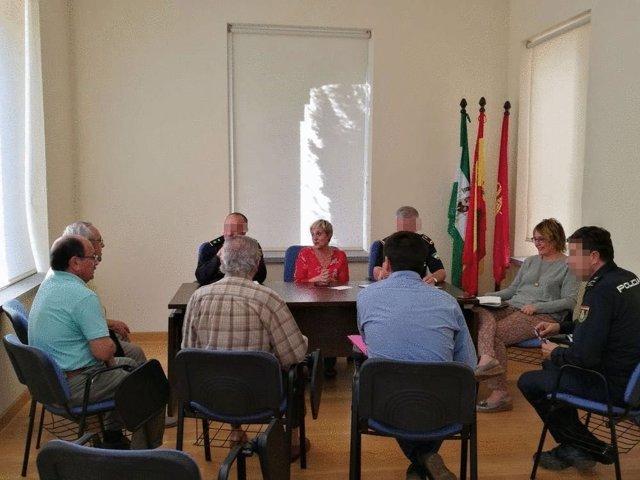 Reuniones del Ayuntamiento de Sevilla con vecinos del Distrito Nervión