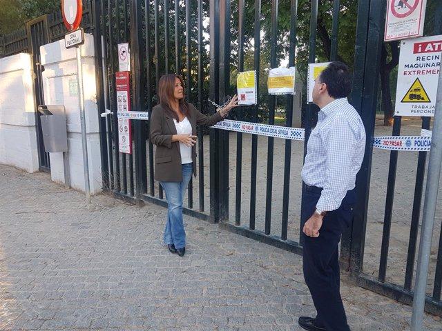 El PP alerta del cierre del Parque Amate de Sevilla
