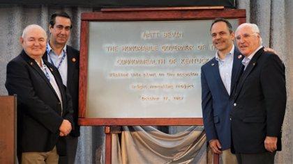 Acerinox estrena nuevas líneas de producción en EE.UU. tras invertir 150 millones de dólares