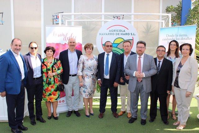 El 18 aniversario de la empresa Agrícola Navarro de Haro en Vera (Almería)