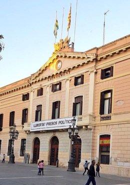 Fachada del Ayuntamiento de Sabadell (Barcelona)
