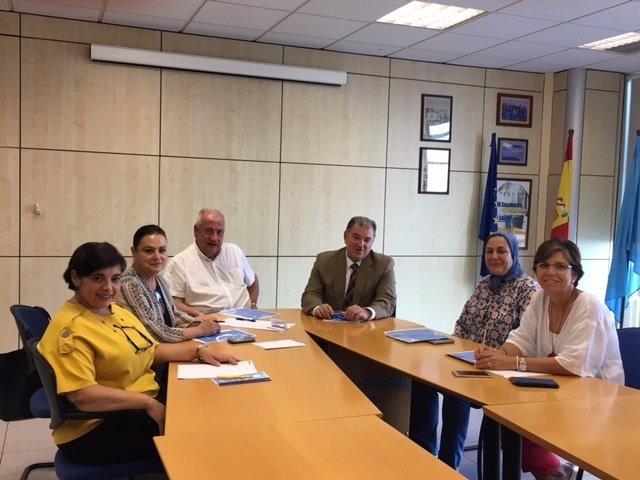 Reunión de Sanidad con diabéticos de Melilla