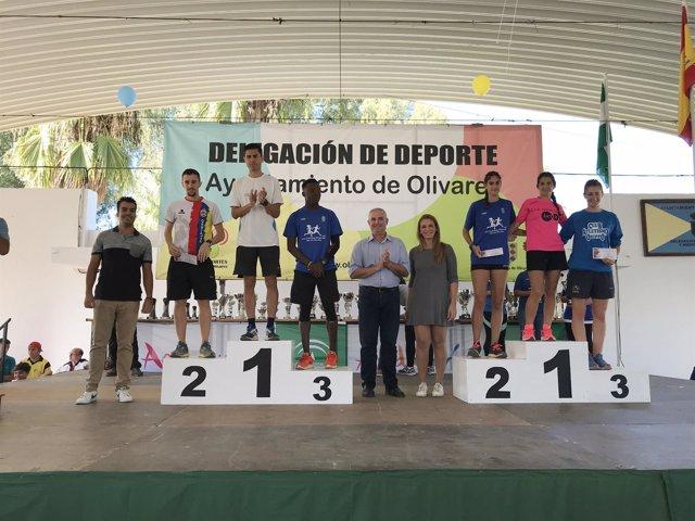 XX edición de la carrera Villa de Olivares (Sevilla)
