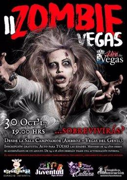 Cartel de 'Zombie Vegas'