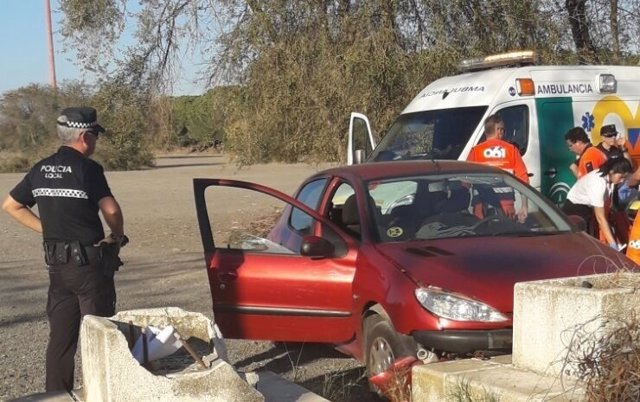 Accidente de tráfico en Sevilla