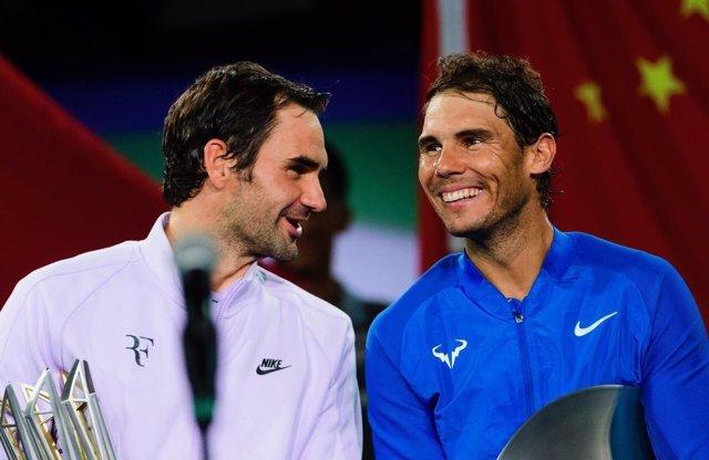Roger Federer Rafa Nadal Shanghai