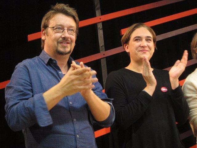 Xavier Domènech y Ada Colau
