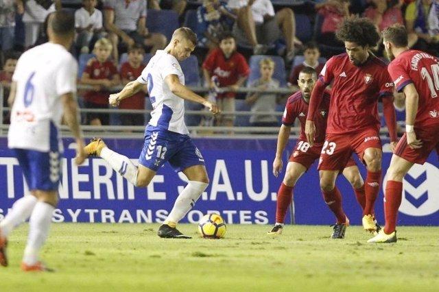 Osasuna no pasa del empate sin goles en Tenerife
