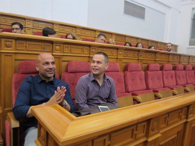 Molina y Llorente diputados de Podemos