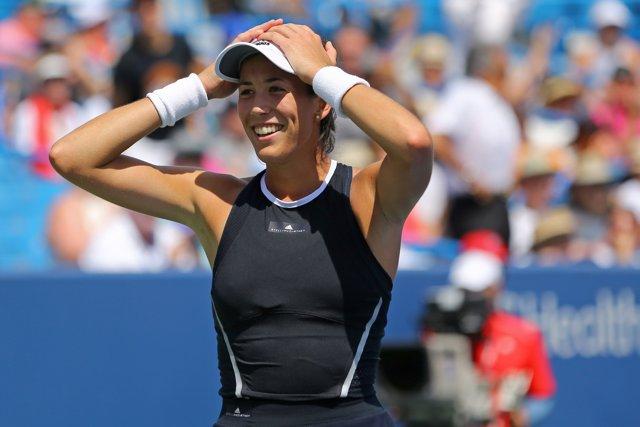 La tenista española Garbiñe Muguruza