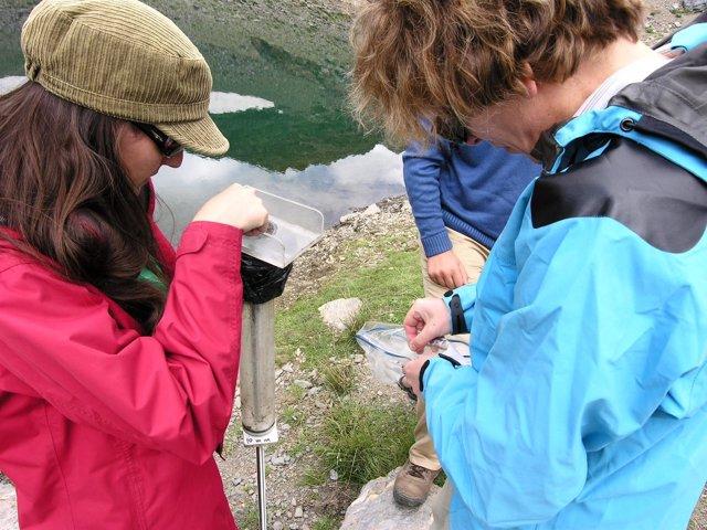Investigadoras en Sierra Nevada, sobre los efectos del cambio climático