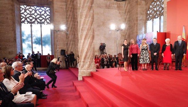 Entrega de los Premios Rey Jaime I 2017
