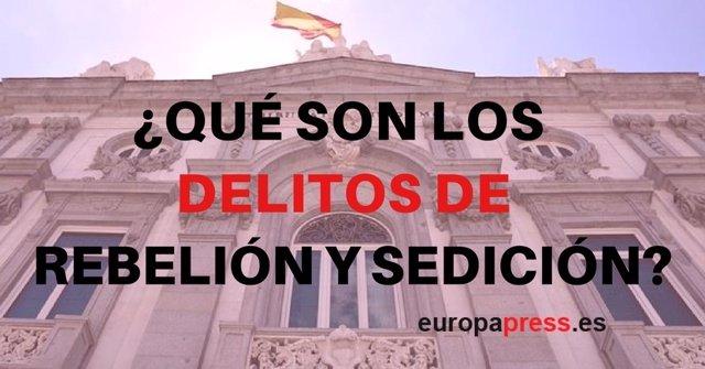 Delitos de rebelión y secesión