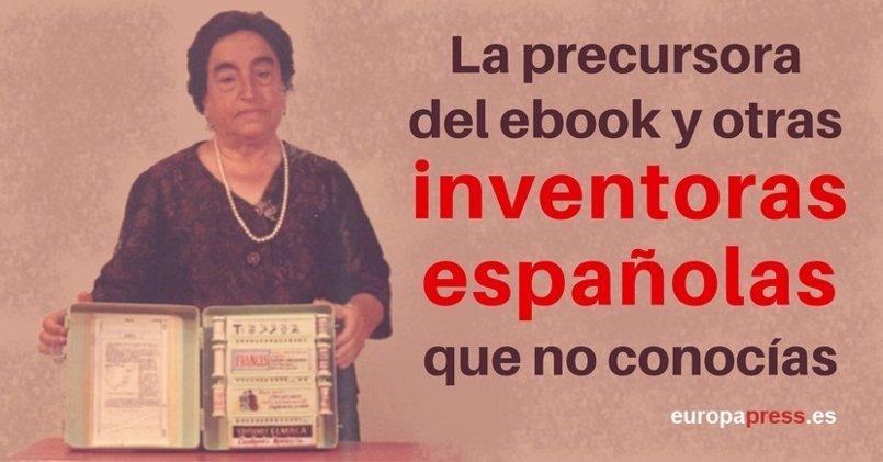 La precursora del ebook y otras inventoras españolas que no conocías