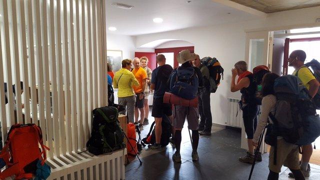 El nuevo albergue de A Fonsagrada acogió desde su apertura a 750 peregrinos