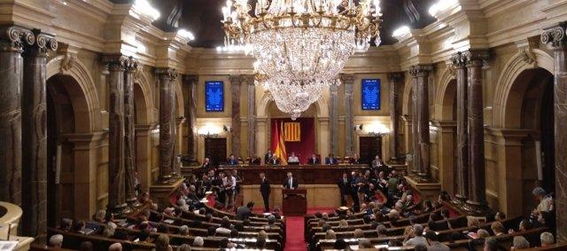 Pleno del Parlament del 27 de octubre