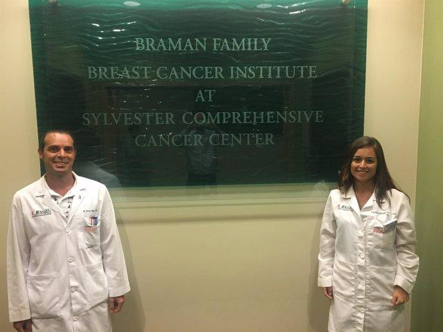 Los investigadores Manuel Picón Ruiz y Cynthia Morata Tarifa