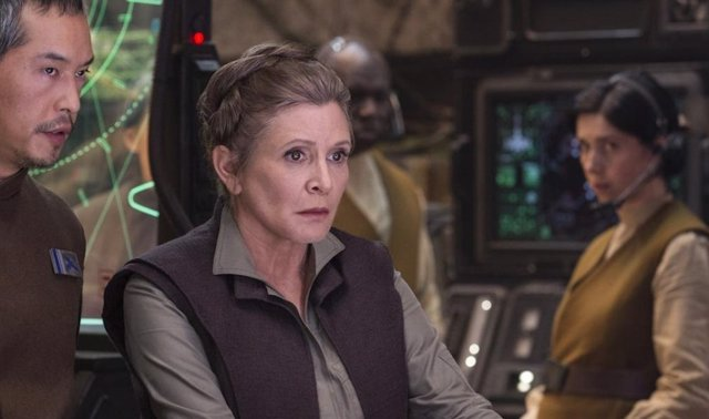 Carrie Fisher es Leia Organa en Star Wars