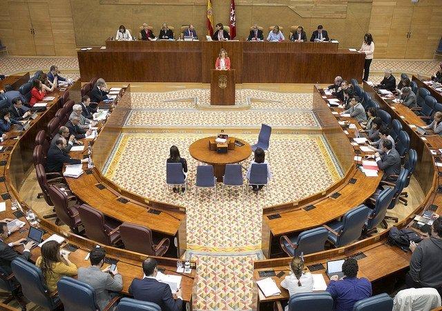 Pleno Asamblea de Madrid 2017