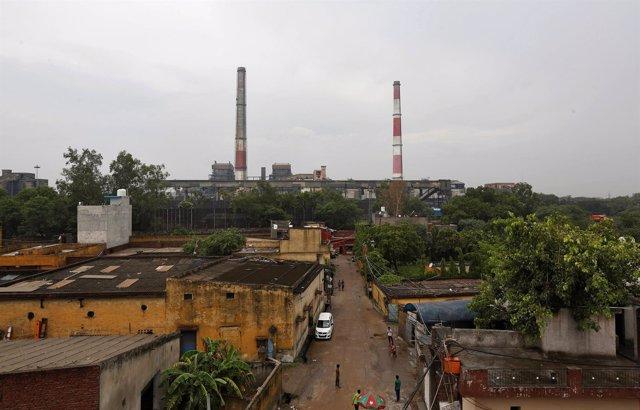 Planta eléctrica en Nueva Delhi